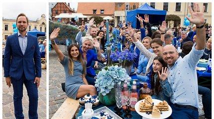 Klaipėdos širdį užliejo Mėlynoji vakarienė: bilietai iššluoti akimirksniu, susigundė ir žinomi svečiai