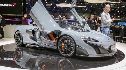 """McLaren"" modelis ""675 LT"" su Lietuva nieko bendro neturi"