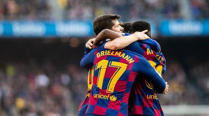 """""""Barcelona"""" pergalę Ispanijoje lėmė solidus spurtas"""