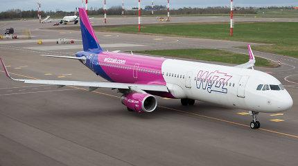 """Kodėl """"Wizz Air"""" trečiadienį atšaukė dalį skrydžių iš ir į Vilnių?"""
