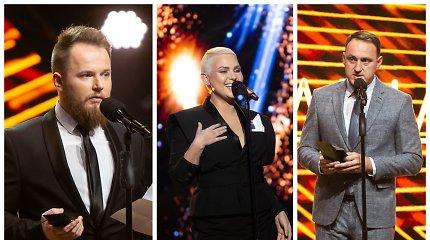 """LRT """"Metų apdovanojimų"""" laimėtojai: populiariausias žmogus – N.Cesiulis, juokingiausias – M.Bartuševičius"""