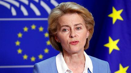 U.von der Leyen komanda turės užsitikrinti EP narių paramą: kai kuriems bus nelengva