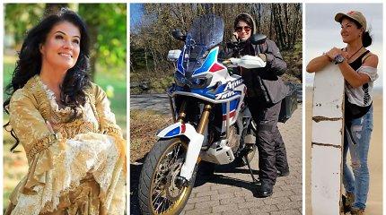 Knygos verta verslininkės Marijos Dubickienės istorija: įveiktas vėžys, skyrybos ir motociklo teisės