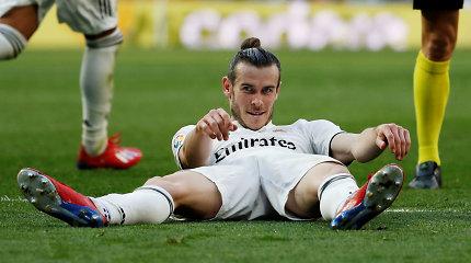 """""""Real"""" persigalvojo: neišleis Garetho Bale'o į Kiniją"""