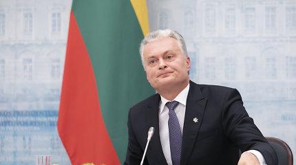 G.Nausėda sako esąs nusivylęs, kad ES nepakvietė derybų Š.Makedonijos ir Albanijos