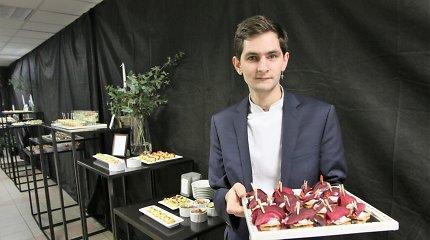 """""""Pragaro virtuvės"""" šefo patikėtinis R.Puskepanis Saločiuose surengė beprotiškai skanią šventę"""