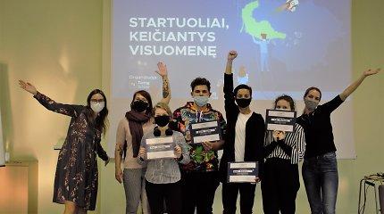 Jaunuoliai hakatonuose savo idėjomis kuria Lietuvą