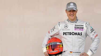 M.Schumacheriui atlikta kamieninių ląstelių persodinimo operacija: kaip jis jaučiasi?