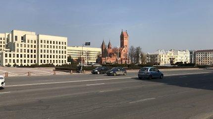 Savaitgalis kaimyniniame Minske: oficialaus karantino nėra, bet koronavirusas išbaidė baltarusius