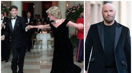 """Johnas Travolta apie nepamirštamą šokį su princese Diana: """"Ji pakeitė mano gyvenimą"""""""