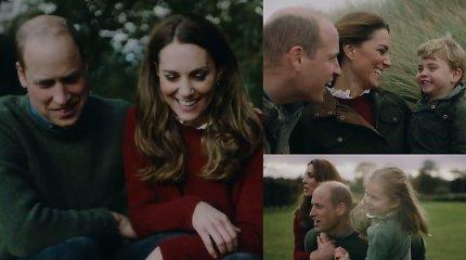 10-ąsias vestuvių metines minintys princas Williamas ir Kate Middleton paviešino jautrų vaizdo įrašą