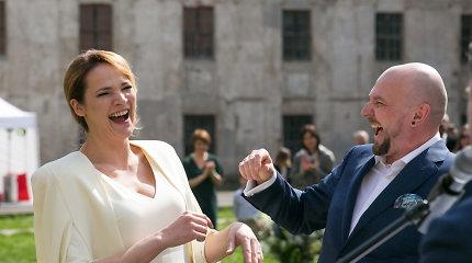 Editos Kabaraitės ir Sauliaus Jovaišo vestuvės