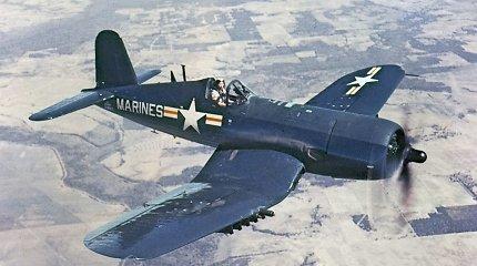"""""""Šaunusis trejetukas"""" – geriausi JAV Antrojo pasaulinio karo naikintuvai, varę siaubą japonams ir vokiečiams"""