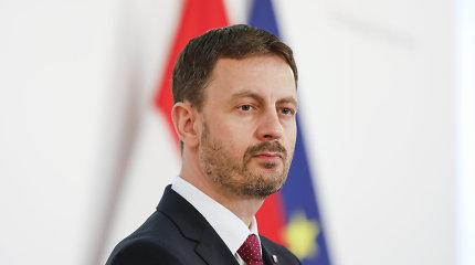 Naujoji Slovakijos vyriausybė laimėjo privalomą balsavimą dėl pasitikėjimo parlamente