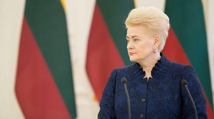V.Pranckietis sako, kad prezidentė turi pati pasisakyti dėl laiškų E.Masiuliui