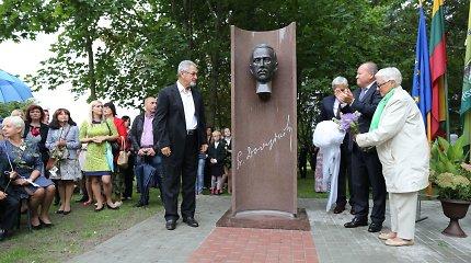 Kauno rajone atidengtas paminklas signatarui P.Dovydaičiui