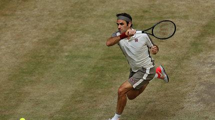 13-asis finalas Halėje – Rogeris Federeris susitvarkė su prancūzu