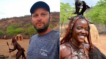 Viešnagė pas vieną unikaliausių Afrikos tautų: keistos švaros procedūros ir neįprasta išvaizda