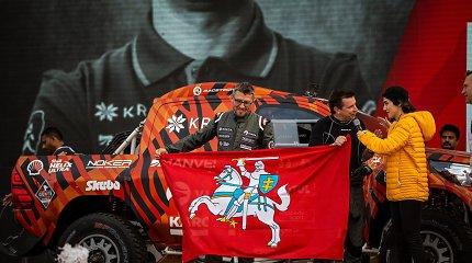 Prisijunkite: penktadienio vakarą Antanas Juknevičius internete pristato 2020-ųjų Dakaro ralio filmą