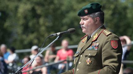 Lietuvos kariuomenės vadas per vizitą JAV aptars karinį bendradarbiavimą