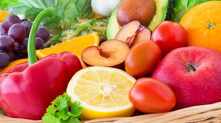 Darželinukams ir pradinukams vėl bus tiekiami vaisiai, daržovės ir pieno produktai