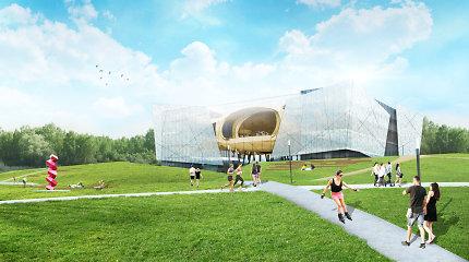 Architektūrinis Nacionalinės koncertų salės Vilniuje konkursas bus skelbiamas vasarį