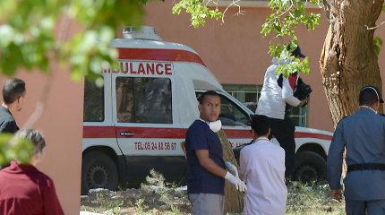 Maroko sostinėje žuvo nuo stogo nukritęs protestuotojas neregys