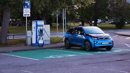 Lietuva taps dar draugiškesnė elektromobiliams: didelės galios stotelės dygs kaip grybai po lietaus