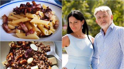 """Vakarienė pas Jurgą ir Paulių. """"Carbonara"""" su lepeškomis ir itališkas grikių renesansas"""