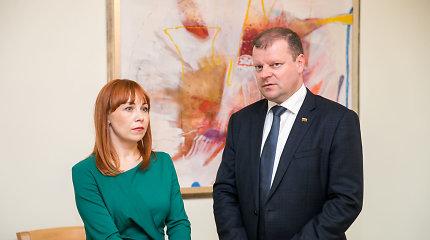 Premjeras ketvirtadienį susitiks su švietimo ministre dėl vyro verslo