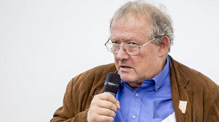 """Adamas Michnikas Vilniuje: """"Aš esu visokių nacionalistų priešas"""""""