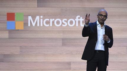 """""""Microsoft"""" ketina pasiūlyti naujų telefonų, kurie nepanašūs į telefonus"""