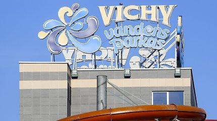"""""""Vichy"""" vandens parkas sulauks baudos: vaikų baseine vanduo – netinkamas, patalpose rasta bakterijų"""