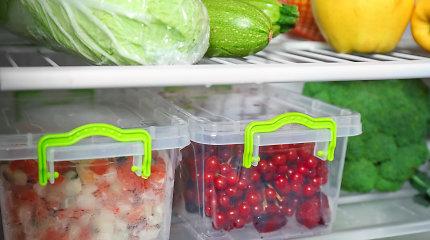 Vaisių ir daržovių laikymas: ką dėti į šaldytuvą ir ko ne? Kodėl svogūnų ir bulvių nepatartina laikyti kartu?
