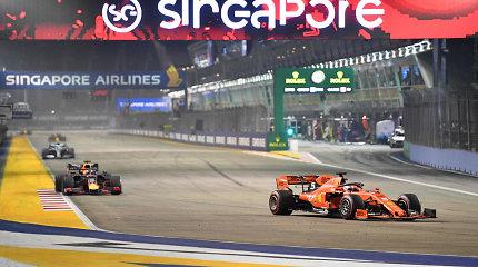 "Ar trečioji ""Ferrari"" pergalė iš eilės reiškia reabilitaciją?"