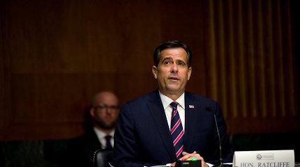 Senatas greitina kandidato į JAV nacionalinės žvalgybos direktoriaus postą paskyrimą