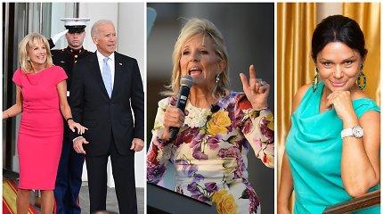 Jurga Jurkevičienė: kodėl 69-erių Amerikos pirmoji ponia nesibaido ryškiausių spalvų?