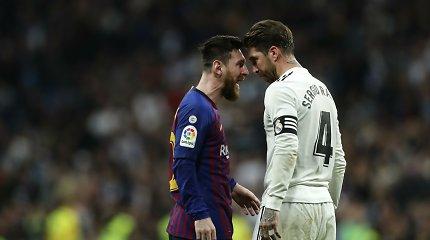 """Neramumų Katalonijoje kaina: """"El Clasico"""" Barselonoje gali neįvykti"""