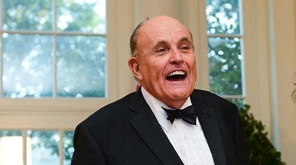 Rudy Giulianiatsiskaitė už kelionę įUkrainą