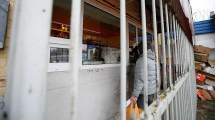 Už vagystes ne kartą teistas Pravieniškių kalinys apvogė pataisos namų parduotuvę