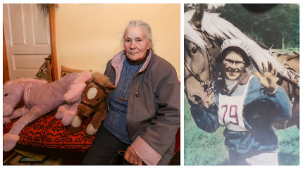 """Ūkininkė, valdanti Užpalių dvarą: """"Esu pirmoji moteris, startavusi Sartų žirgų lenktynėse"""""""