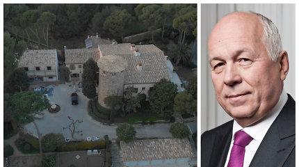 Pilis Ispanijoje – nuslėptas Vladimiro Putino bičiulio šeimos turtas, iki kurio atvedė Ūkio bankas