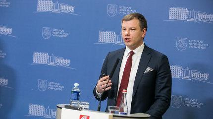 V.Šapoka: švietimui reikia reformos, ne akcijų prieš biudžeto priėmimą