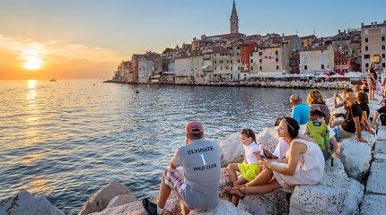 Romantiškiausias Kroatijos kurortas – Rovinis