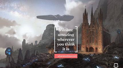 Pristatyta nauja šmaikšti Vilniaus reklama pasauliui: įvertinkite