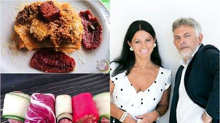 Vakarienė pas Jurgą ir Paulių: lazanija kitaip ir vėrinukas ant grilio, kimštas trijų rūšių mėsa