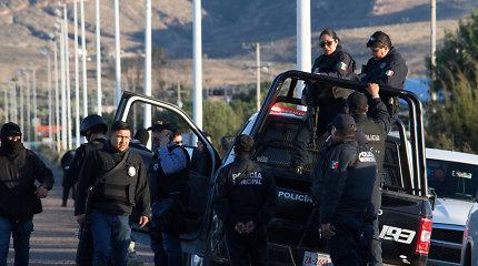 Per riaušes centriniame Meksiko kalėjime žuvo 16 žmonių, 5 sužeisti