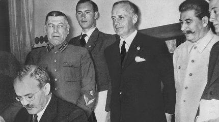 Molotovo-Ribbentropo paktas: J.Stalinas tikėjosi pergudrauti A.Hitlerį, bet apgavo pats save