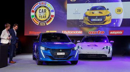 """Uždarytoje Ženevos automobilių parodoje paskelbtas """"Europos metų automobilis 2020"""""""