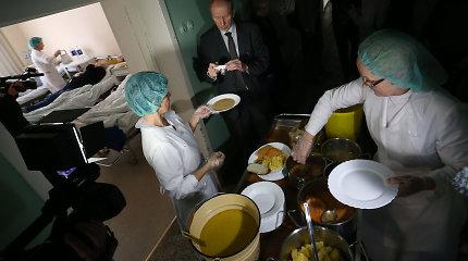 Tęsiasi reidas po gydymo įstaigas: koks maistas tiekiamas Kauno klinikinės ligoninės pacientams?